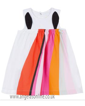 Catimini girls dress CN31083-19 White