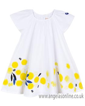 Catimini girls dress CN30073-19 White