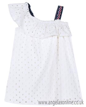 Catimini girls dress CN31105-19 blue