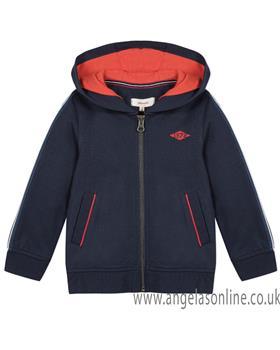 Catimini boys zip up jacket CN17004-19 Blue