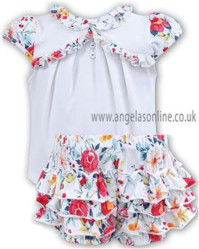 Sarah Louise baby girls top & short 011213-011214