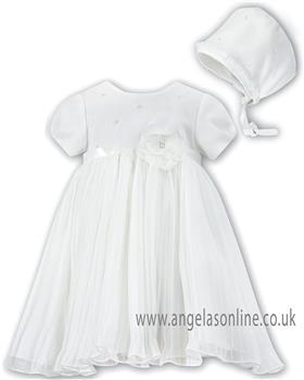 Sarah Louise Christening Dress 070049 Ivory