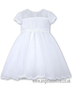 Sarah Louise Christening dress 070060 White