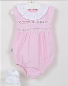 Babidu baby girls romper 11320-19 Pink