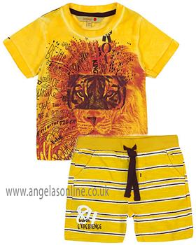 Boboli boys T shirt & short 317034-317056