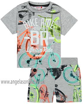 Boboli boys T shirt & short 347060-347093-19