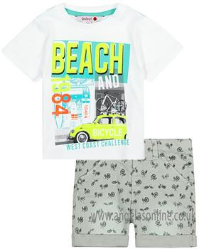 Boboli Boys T-Shirt & Short Set 347037-347059-19