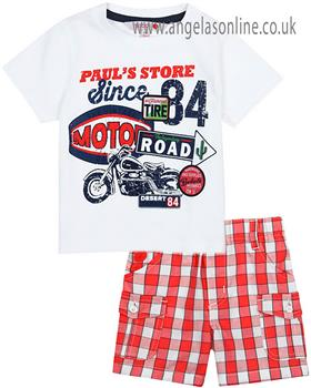 Boboli Boys T-Shirt & Short Set 327068-327091-19