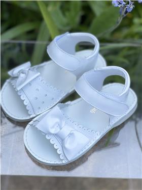 Pretty Originals Girls Sandals UE01332E White