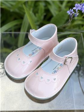 Andanines girls patent leather shoe 191811-19 Pink