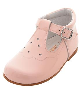 Andanines girls patent leather shoe 191822-19 Pink