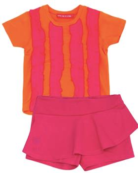 Agatha Ruiz girls T shirt & short 7TS5152-7CL0890-19