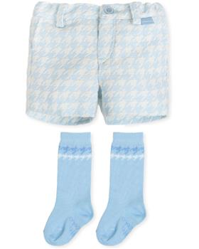 Tutto Piccolo boys shorts 7312-19 Blue