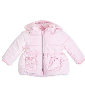 Tutto Piccolo girls parka jacket 7525-19 Pink