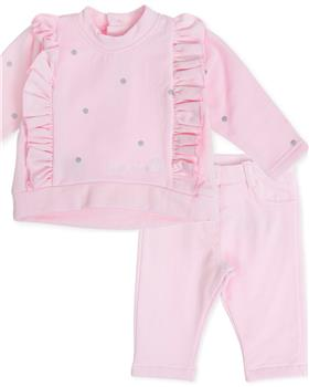Tutto Piccolo girls jumper & trousers 7825-7124-19 Pink