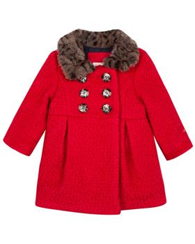 Catimini girls coat CP44043-19 Red