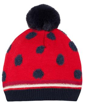 Catimini girls bobble hat CP90073-19 Red