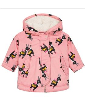 Catimini girls parka jacket CP42043-19 Pink