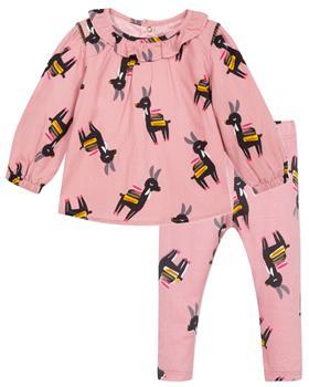 Catimini girls tunic top & leggings CP19003-24023-19 Pink