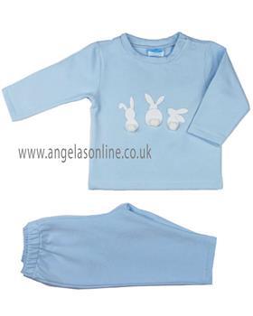 Sardon Boys Bunnies Tracksuit CO-674-19 BLUE