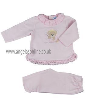Sardon girls princess tracksuit CO-679-19 Pink