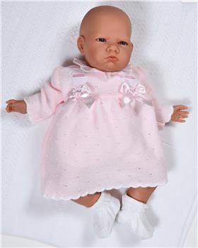 Sardon Baby Girls Belen Dress MC-205-19 PINK