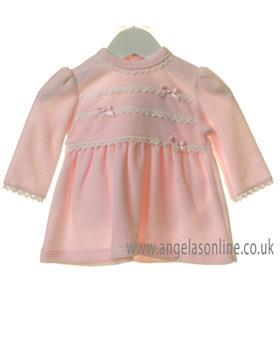 Bluesbaby girls frilled top TT0174-19 Pink