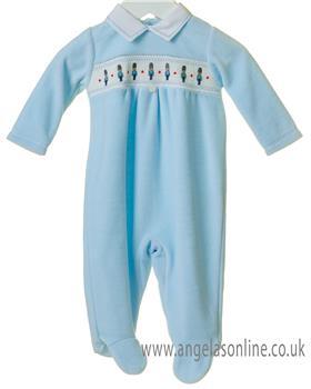 Bluesbaby newborn boys soldier babygrow TT0192-19 Blue