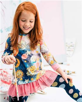 Rosalita Senorita girls winter dress & Tights Geneva-1-11