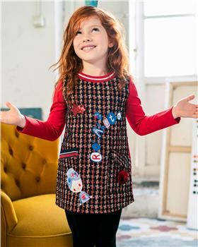 Rosalita Senorita girls winter dress Brienz-1