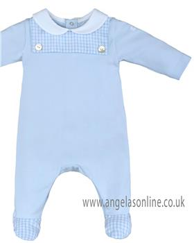 Laranjinha baby boys all-in-one 19404-19 Blue