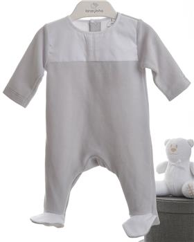 Laranjinha baby boys all-in-one 19438-19 Grey