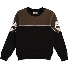 Timberland Boys Round Neck Winter Sweatshirt T45800-19 GREEN