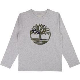 Timberland Boys Long Sleeved Tshirt T25Q21-19 GREY