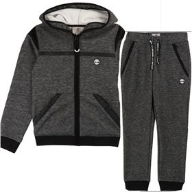 Timberland Bigger Boys Designer Winter Tracksuit T25Q51-24A69-19 GREY