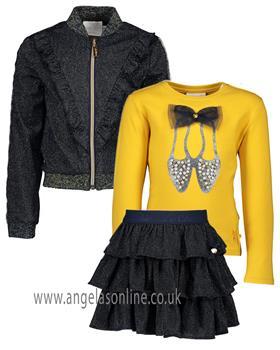 S&D Le Chic girls winter top jacket & skirt set C908-5477-5142-5742