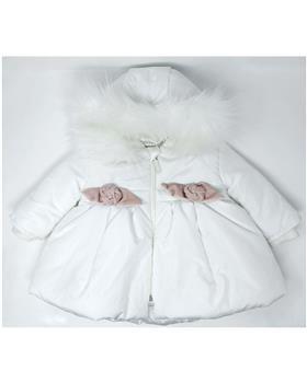 Mintini baby girls coat MB2916-19 Cream