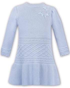 Dani girls dress D09358-19 Blue