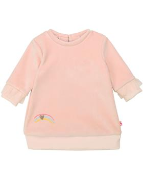 Billieblush baby girls long sleeve spotted new winter dress U02254