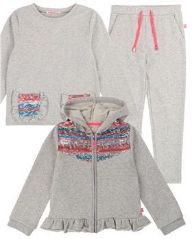 Billieblush girls jogsuit & T shirt U15681-15652-14325