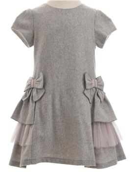 Balloon Chic girls dress 92BCE246-19 Grey