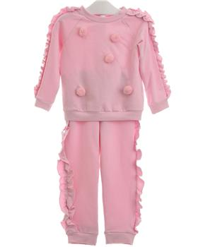 Balloon Chic Girls Pom Tracksuit 92BCE539-335-19 PINK