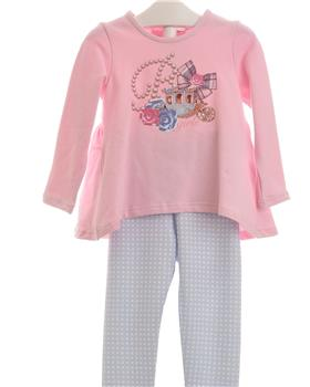 Balloon Chic Girls Legging Set 92BCE533-344-19 PINK