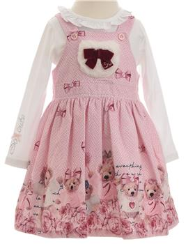 Balloon Chic Girls Pinafore & Blouse 92BCE711-512-19 AS