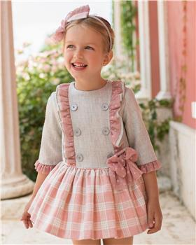 Dolce Petit girls dress 26-2218-V-19