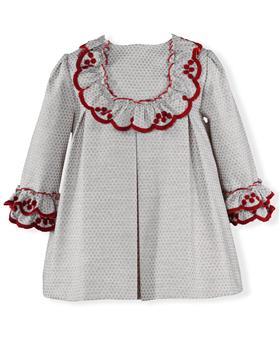 Miranda girls winter dress 26-0133-v