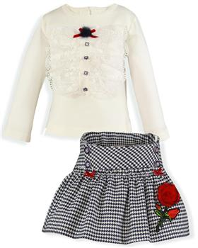 Miranda girls top & skirt 26-0241-CF