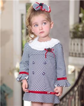 Miranda girls winter dress 26-0241-V-19