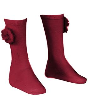 Miranda girls socks 26-1505-C-19 Maroon