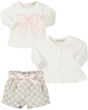 EMC baby girls top -shorts & cardigan BX1566-6346-1419